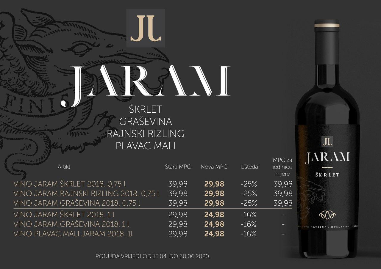Akcija vina Jaram
